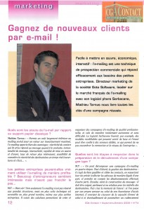 CGA Contact, le journal de la petite entreprise