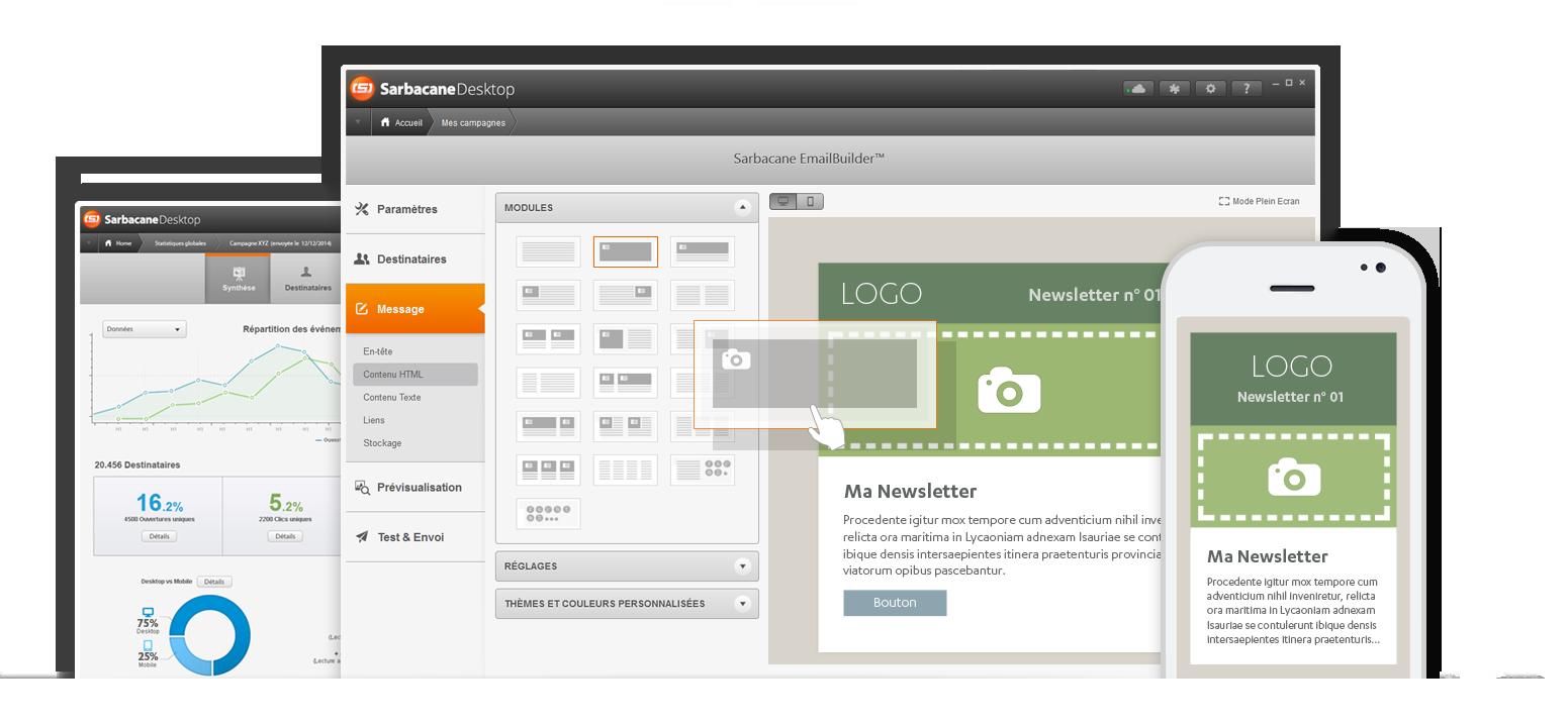 Sarbacane Software dévoile Sarbacane Desktop et ses nouvelles fonctionnalités