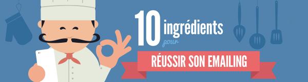 [Infographie] 10 ingrédients pour réussir son emailing