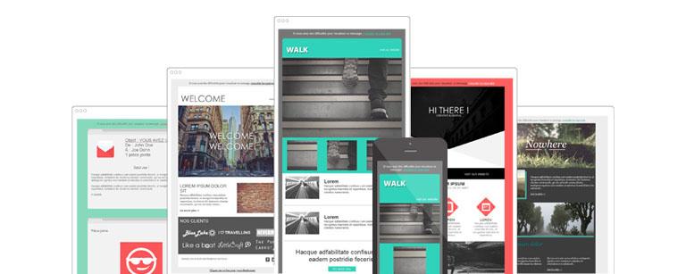 Découvrez les nouveaux templates gratuits dans Sarbacane Desktop