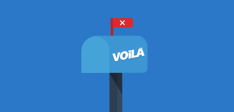 Bye bye Voila !