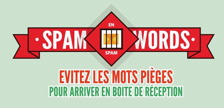 [Infographie] Les «SpamWords» : ces termes à éviter dans vos emails