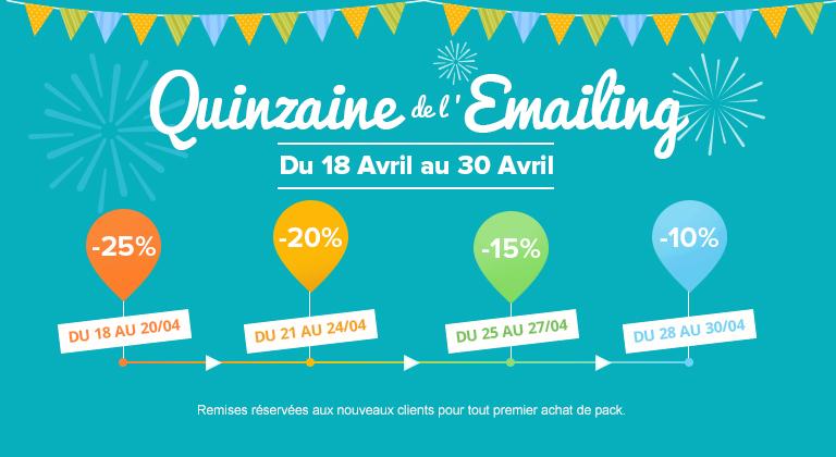 Sarbacane Fête la Quinzaine de l'Emailing !