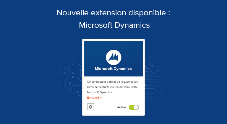 Nouvelle extension disponible : Microsoft Dynamics