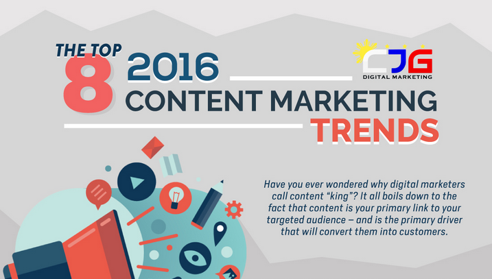Les 8 Grandes Tendances Content Marketing en 2016