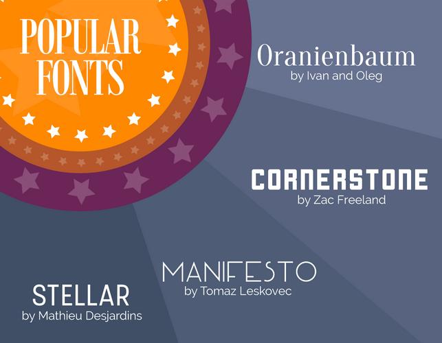 Les grandes tendances typographiques pour 2016
