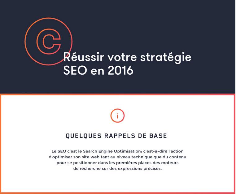 Réussir sa stratégie SEO en 2016 – Rappels de base
