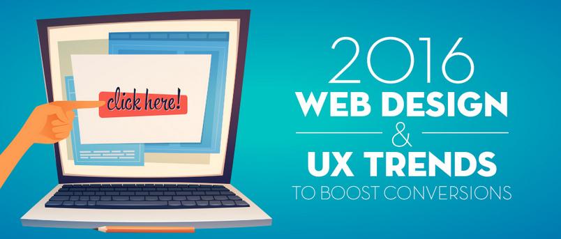 Tendances Webdesign et UX pour booster vos conversions en 2016