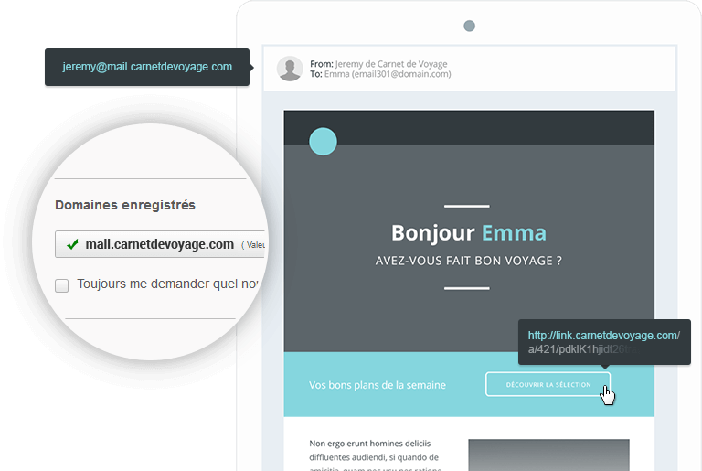 Pourquoi utiliser une adresse professionnelle pour ses campagnes emailing ?