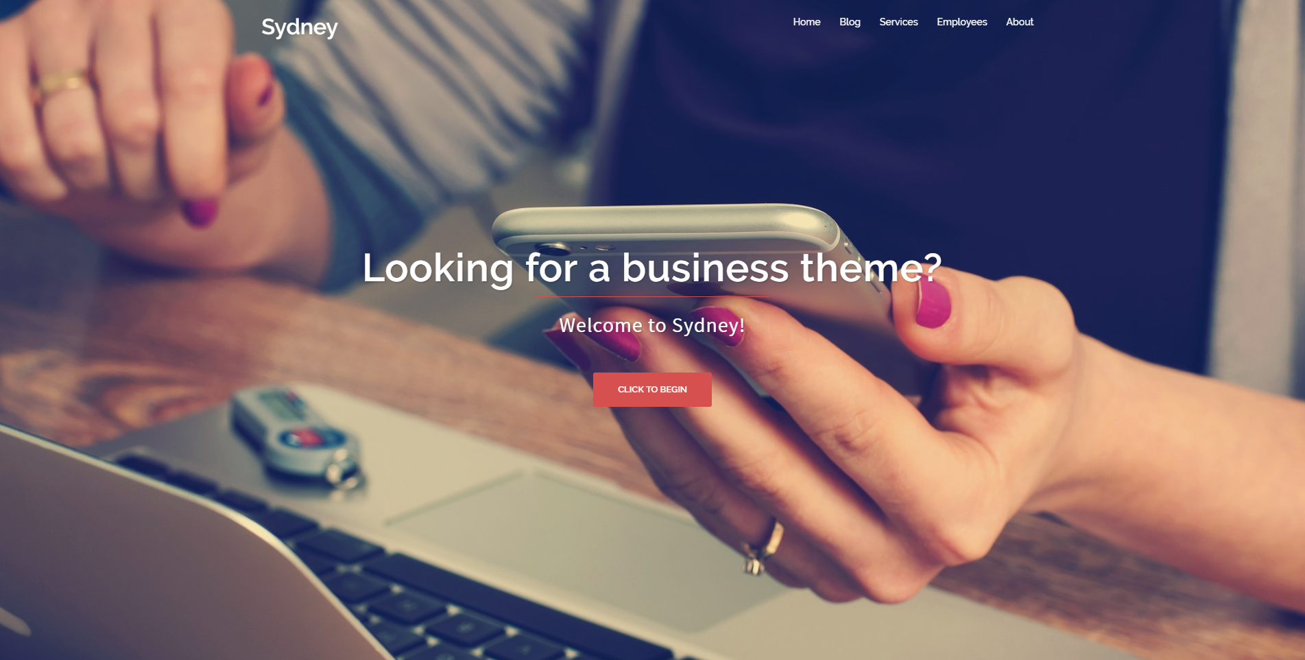 theme wordpress gratuit sydney