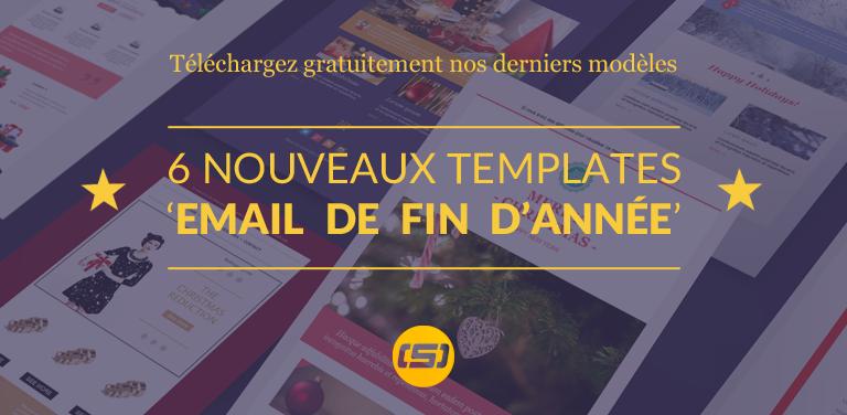 6 Nouveaux Templates Emailing pour Noël disponibles dans Sarbacane !