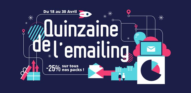 Quinzaine de l'Emailing 2017: Sarbacane gâte ses nouveaux clients