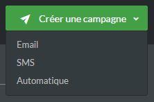 Créer une nouvelle campagne SMS