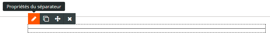 Séparateur horizontal emailing