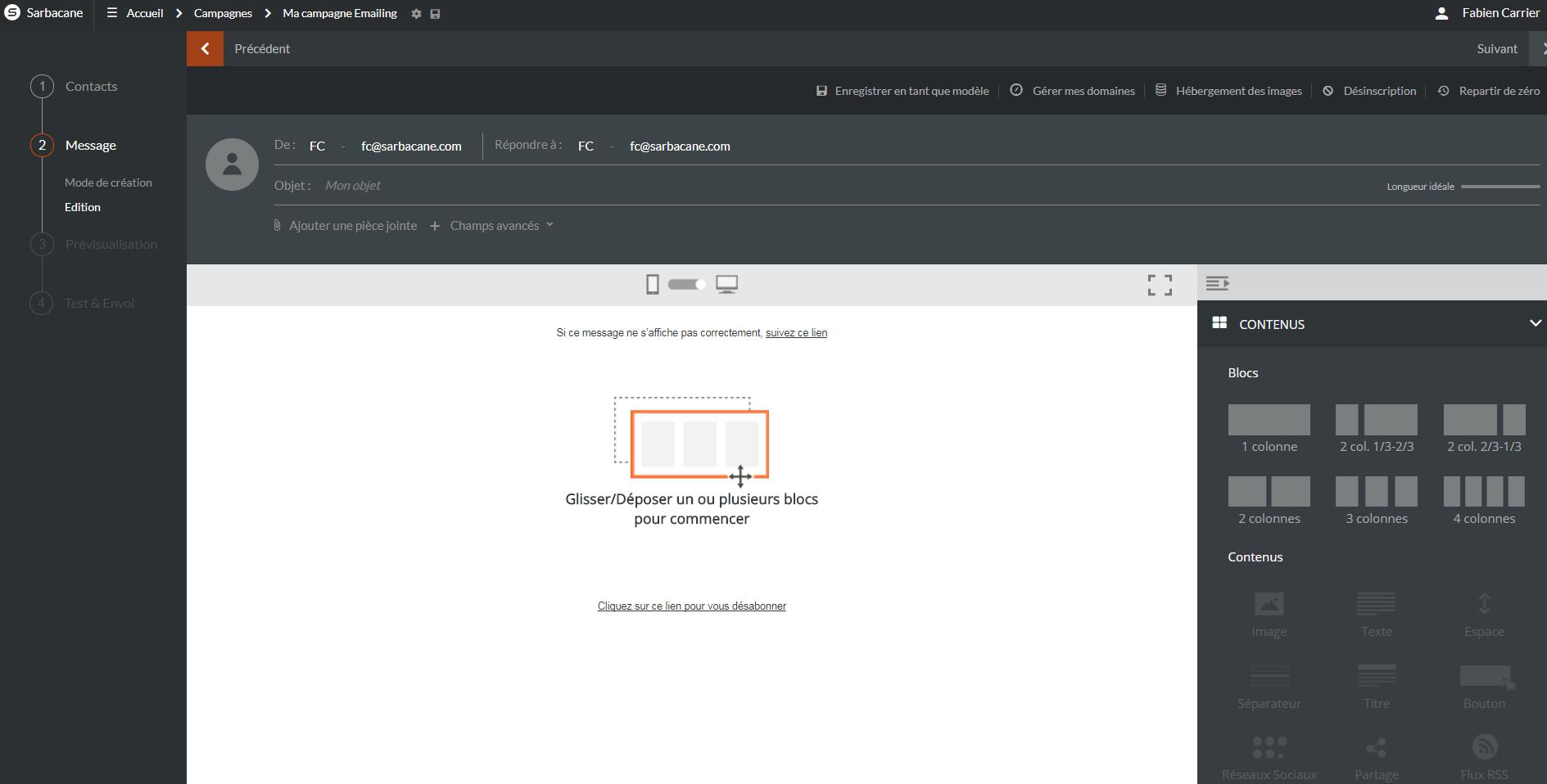 Email Builder Framework