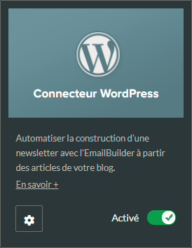 Plugin WordPress pour Sarbacane Sunrise