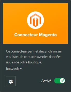 Connecteur Magento pour Sarbacane