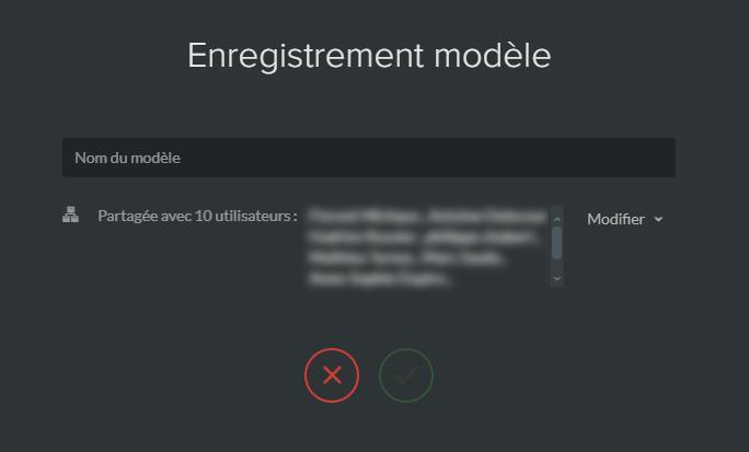 enregistrer modele emailing