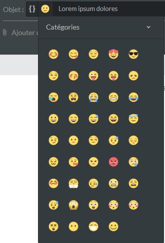 emojis emailing