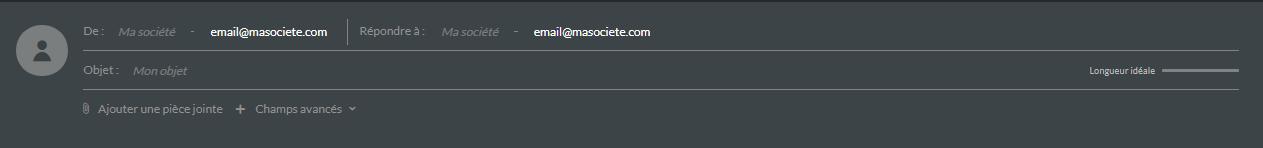en-tête emailing