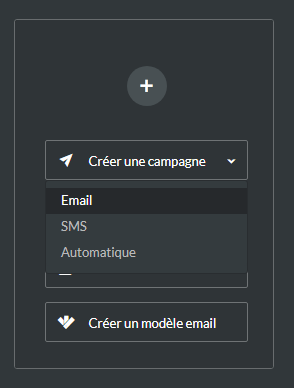 créer campagne email