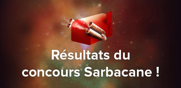 Résultats du concours Sarbacane : et les gagnants sont…