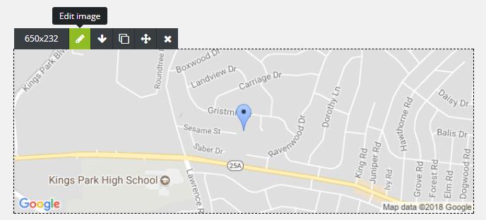 Carte Google Maps dans un emailing