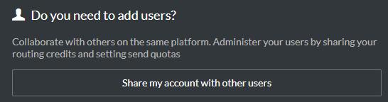 Utilisateur supplémentaire