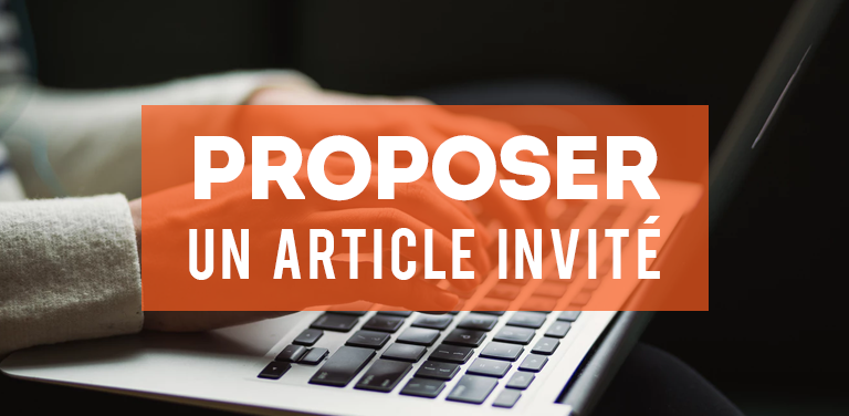 Proposer un article invité