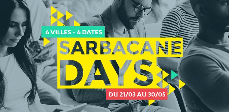 Sarbacane Days – On s'invite dans votre ville !