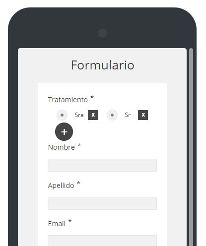 Form builder responsive design