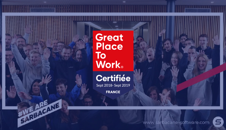 Sarbacane certifié Great Place To Work®