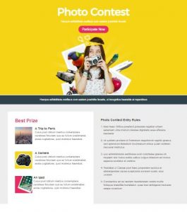 Emailing Landing Page Template 1
