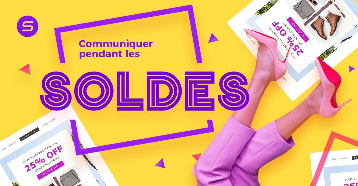 Les soldes : A vos (dé)marques, prêts, communiquez !