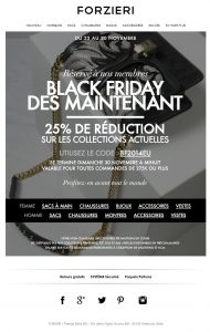Offre exclusive Black Friday