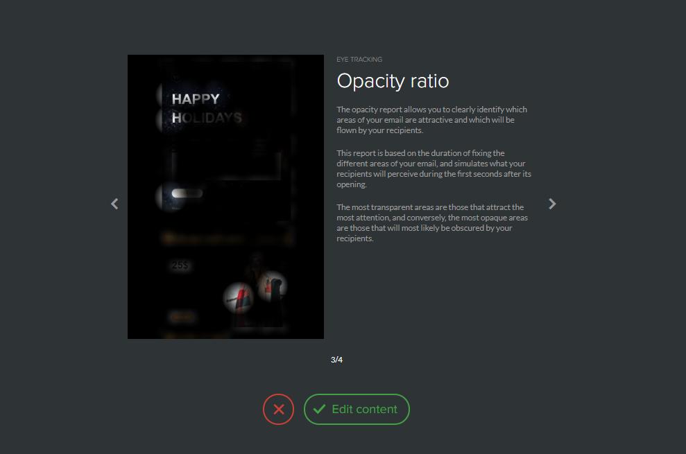 Opacity ratio