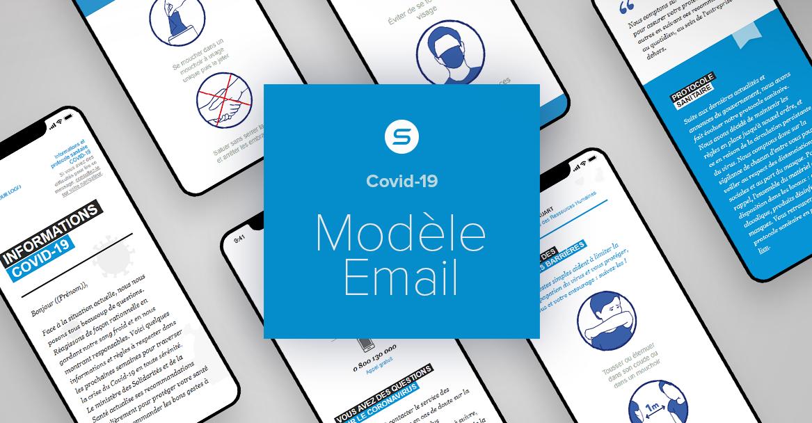 COVID-19 et reconfinement : un modèle d'email déjà prêt pour vos communications internes
