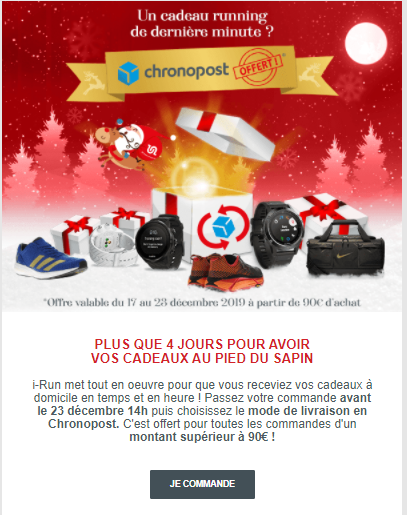 Last minute newsletter de Noël