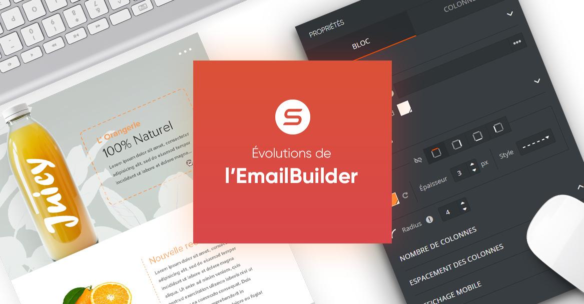L'EmailBuilder de Sarbacane évolue