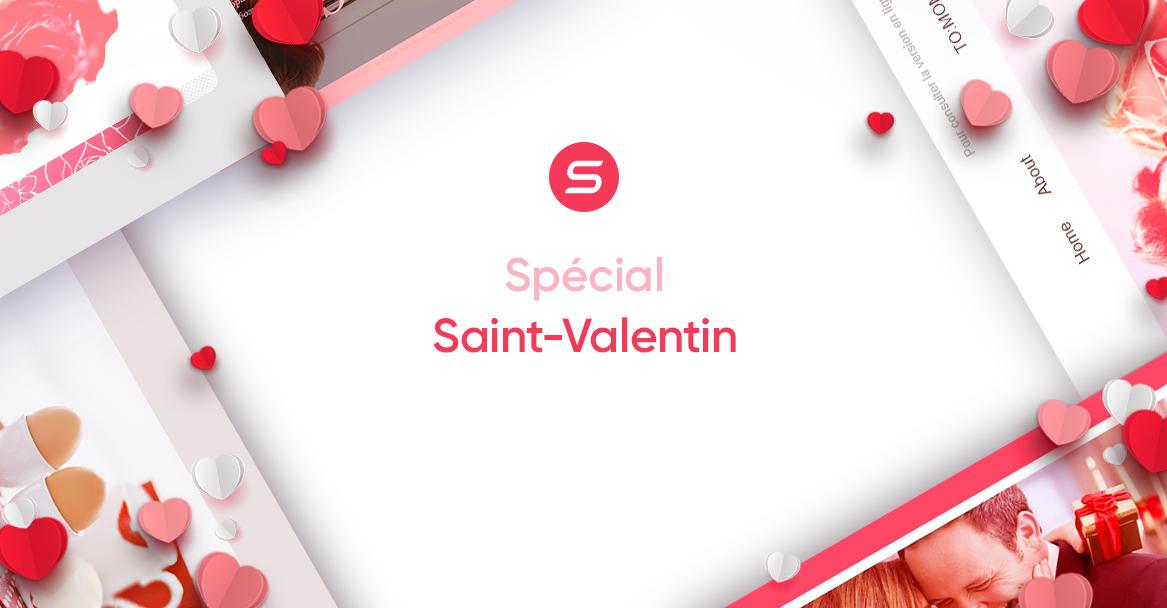 Saint-Valentin : 4 modèles de newsletters
