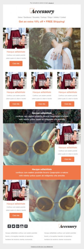 template emailing accessory sarbacane