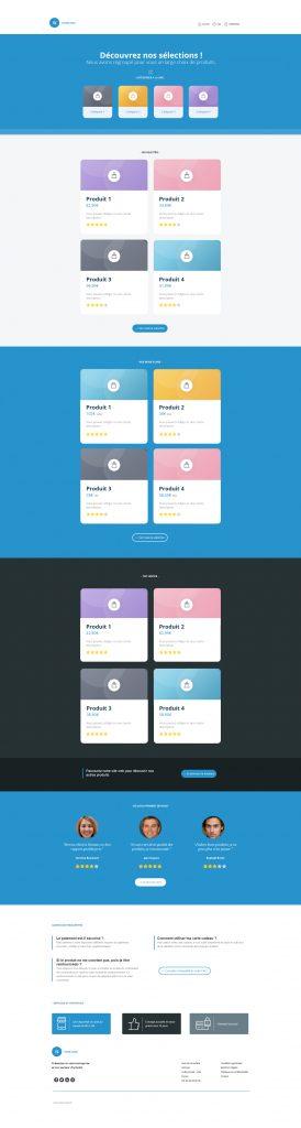 smart templates e-commerce
