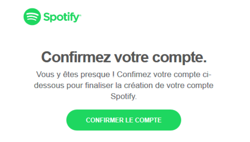Exemple Spotify